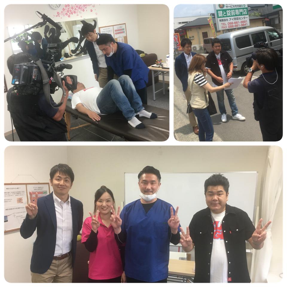 テレビ取材〜♪